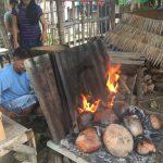自家製直火オーブンで焼くパン