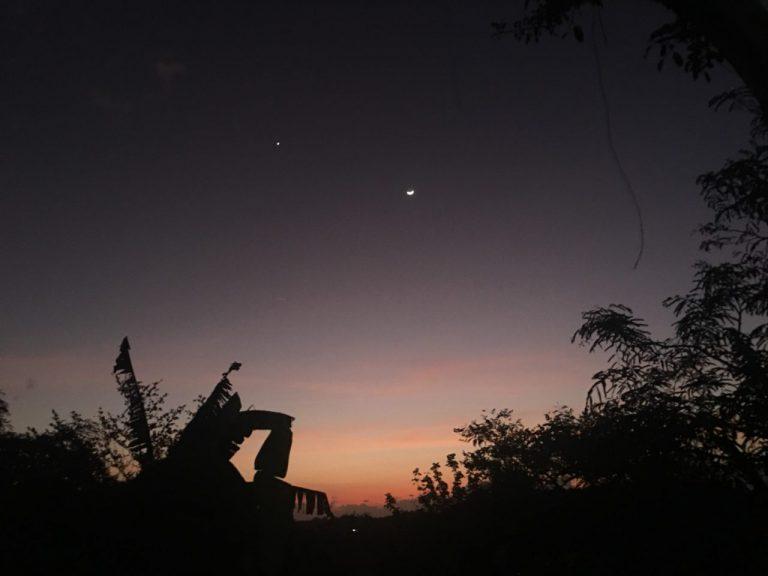 アラムヌサの夜景