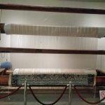 堺の段通の織り機